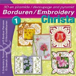 01 / Borduurboek Bloemen - Christa