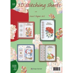 010 / Stitching Sheets 10 kerst