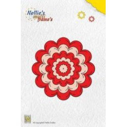 MFD024 / Nellies Multi Frame Die Incire flower