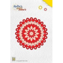 MFD025 / Nellies Multi Frame Die Dots circle