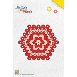 MFD026 / Nellie Snellen Multi Frame Die Dots hexagon