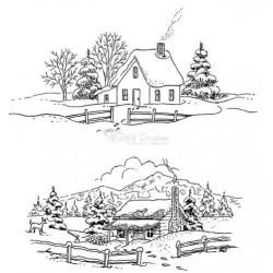 HCPC3356 / Cozy Winter Days PreCut Set 3356
