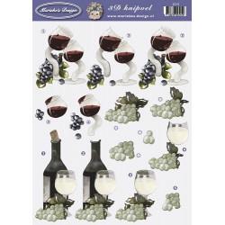2515 / Wijn druiven Marieke's design