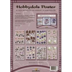 64 / knipvel poster Allround borduren Hobbydols