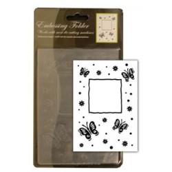 CCC4022 / Vlinders embossing folder