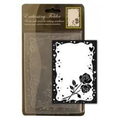CCC4027 / Rozen Embossing Folder