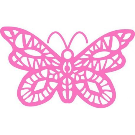DL105 / Oriental Butterfly Doily
