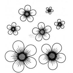 hcpc3303 / Posy Patch Flower stempels