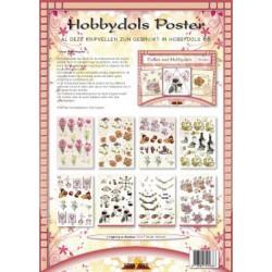66 / Knipvelposter Dollen met Hobbydots