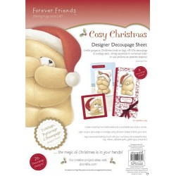 69 / 70 Cosy Christmas poster f.Friends