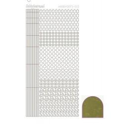 10 / Hobbydots stickervel serie 10