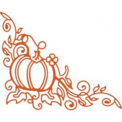 B138 / Lacey Pumpkin Corner