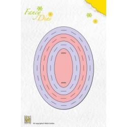 FD0002 / Fancy die Oval