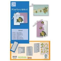 29 / Romak kaarten pakket 29 bloemen