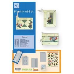 30 / Romak kaarten pakket 30 Bloemen