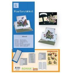 31 / Romak kaarten pakket 31 Vlinders