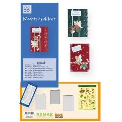 33 / Romak kaarten pakket 33 Kerst
