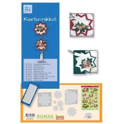 34 / Romak kaarten pakket 34 Kersthanger