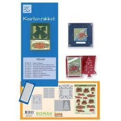 35 / Romak kaarten pakket 35 Kerst
