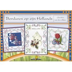 75 / Hobbydols boekje Borduren op zijn Hollands