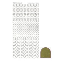 08 / Hobbydots stickers serie 8 bloemetjes