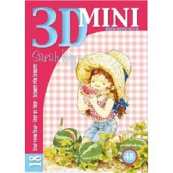 48 / 3-D mini boekje Sarah Kay