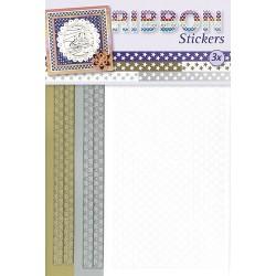 3.9875 / Ribbon stickers sterren
