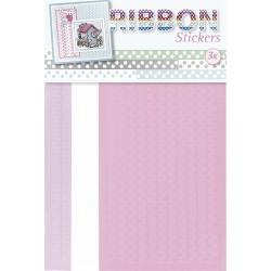 3.9873 / Ribbon stickers Flowers