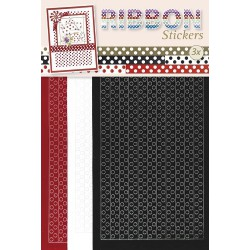 3.9869 / Ribbon stickers Polka dots