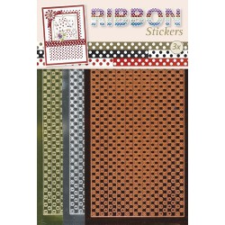 3.9868 / Ribbon stickers Polka dots