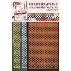 3.9868 / Ribbon stickers Polka dots