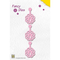 FD0009 / Fancy dies Click Flower