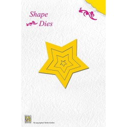 SD003 / Shape Die 5 point Star
