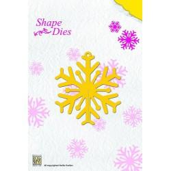 SD006 / Shape Die Snowflake
