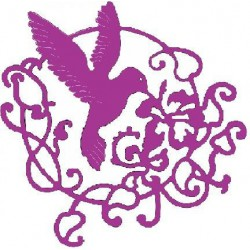 B192 / Lace Hummingbird flourish