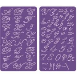 FS171 / Delicate Lace Script