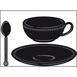 CR1238 / Tea Cup and spoon