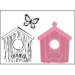 COL1309 / Set Birdhouse home