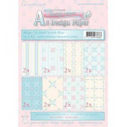 51.8688 / design papier stylish blue
