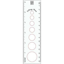 FCRR001 / Filling die circle size ruler