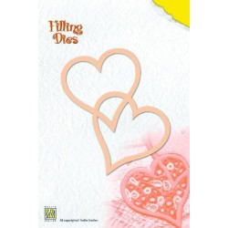 QD002 / Filling die 2-hearts