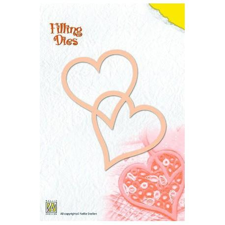 QD002 / Filling die 2-hearts