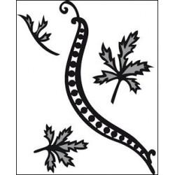 CR1243 / Swirls & Leaves 1