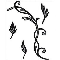 CR1244 / Swirls & Leaves 2