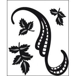 CR1245 / Swirls & Leaves 3
