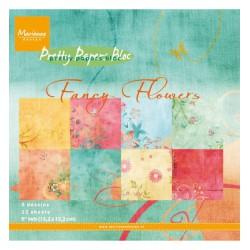 PK9088 / Fancy Flowers 15,2 x 15,2 cm
