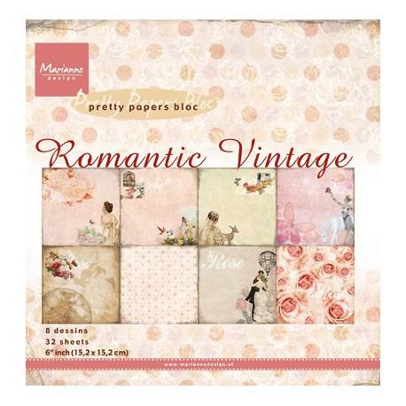 PK9093 / Romantic vintage 15,2 x 15,2 cm