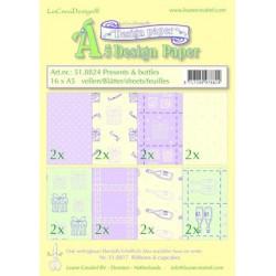 51.8824 / design papier Presents & bottles