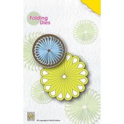 NFD004 / Flower 1 Nellie's folding die