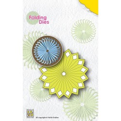 NFD005 / Flower 2 Nellie's folding die